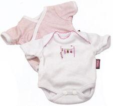 gotz packung mit zwei unterhemden passend 42-46cm babypuppen maxy aquini maxy und muffins