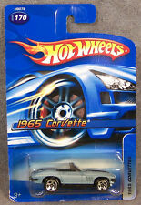 Hot Wheels ~ 1965 Corvette ~ Light Blue