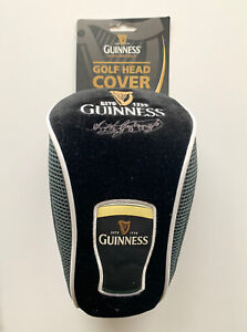 Mens Fathers Day gift Guinness Golf Head Cover With Pint And Signature New