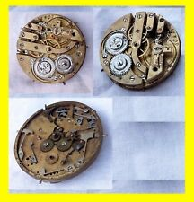 g RARE BIG  movement pocket watch repetition repeat quarter sonerie  1900