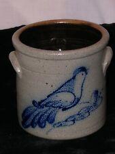 Colonial Williamsburg Reproduction AARFAC Stamp Rowe Pottery Works FolkArt Crock
