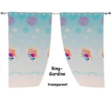 """2 Piece _Curtains / Ready - Curtains from Chiffon - """" Disney the Ice Queen - For"""