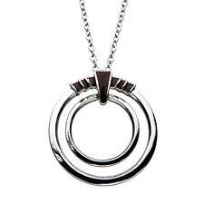 Marvel Comics BLACK PANTHER NAKIA'S RING BLADE NECKLACE Stainless Steel Cosplay