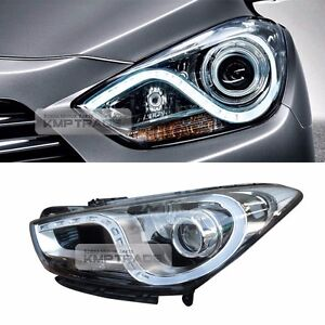 OEM Projection DRL LED Front Head Light Lamp Assy LH for HYUNDAI 2012-2018 i40