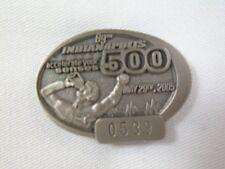 2005 Indianapolis 500 Silver Pit Badge Dan Wheldon Andretti AutosportCorvette C6
