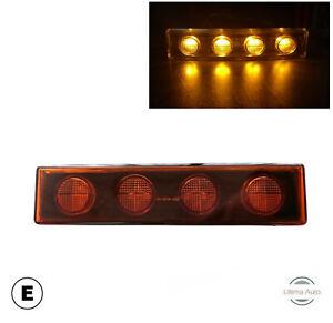 2X TRUCK 24V LED ORANGE AMBER SUN VISOR MARKER POSITION LAMP LIGHT FOR SCANIA E-