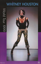 Poster :Music : Whitney Houston - 1999 World Tour Free Ship ! #7543 Rc40 N