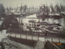 Hamburg - Fotografien von Höge um 1870 - Jollenführerponton/Signalbatterie
