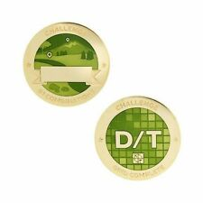 Challenges Geocoin and Tag Set - D/T Grid Geocaching Official Trackable
