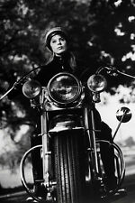 Alain Delon As Daniel In The Girl On A Motorcycle 11x17 Mini Poster