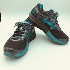 Womens Brooks Ariel 16 Midnight Grey Teal White Running Shoes Size 8