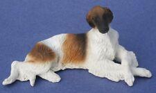 Miniature Dollhouse Miniature Borzoi Dog 1:12 Scale New