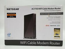 Netgear C6300 Dual-Band AC1750 16 x 4 DOCSIS 3.0 Wi-Fi Cable Modem Router Black