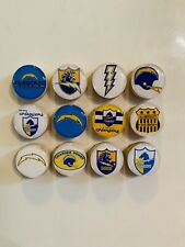 San Diego Chargers Magnets - Set Of 12 - FREE SHIPPING