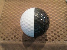 PING GOLF BALL-BLACK/WHITE PING EYE2 #2....MICHAEL JORDAN GOLF LOGO....10/10