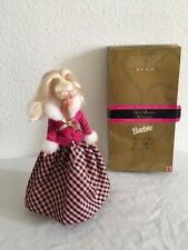 Barbie Avon Winter Rhapsody Vintage 1996  Exclusive Limited Edition Doll In Box