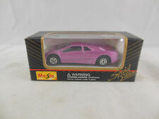 Maisto 11001 Lamborghini Diablo in Metallic Purple scale 1:64 Boxed 2001