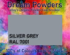 RAL 7001 Silver Grey Powder Coat 1KG Alloy Wheels Refurb Powder Coating