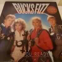 BUCKS FIZZ ~ ARE YOU READY ?  LP ~ VINYL EXCELLENT ~ RCALP 8000