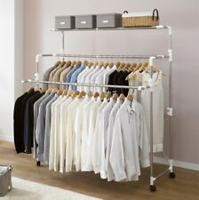 Premium Quality Foldable Rolling Clothes Laundry Drying Rack Stainless Steel Rod