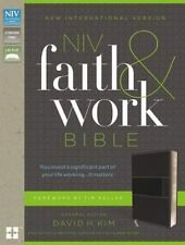 NIV, Faith and Work Bible, Imitation Leather, Gray by Christianity Today Intl