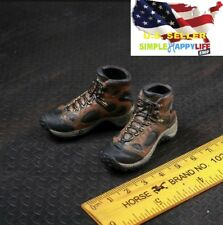 "1/6 men hiking boots Military combat Shoes for hot toys phicen 12"" figure ❶USA❶"