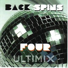 Ultimix Back Spins 4 CD Journey The Cars Bryan Adams Laura Branigan Billy Idol