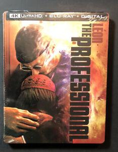 Leon The Professionnel [Édition Limitée Steelbook] ( 4K Ultra HD + Blu-Ray) Neuf