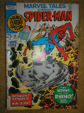 MARVEL TALES # 30 SPIDER-MAN KA-ZAR NEW ANGEL STORY 25c BRONZE AGE COMIC BOOK