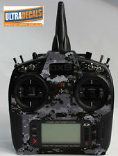 Black Camouflage Skin Wrap Decal Spektrum DX9 DX8 DX7S Transmitter Controller
