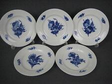 Royal Copenhagen 5x Blaue Blume Dessertteller