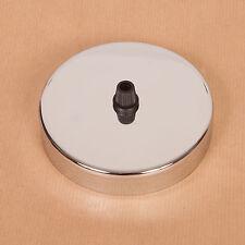 Chrome Plafond Rose pour Créateur,Mezzanine Style Pendentif Lampe - British Made