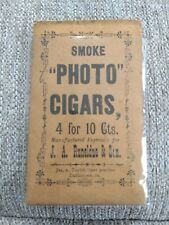 Paper Cigar Holder. Photo cigars Dallastown, Pa