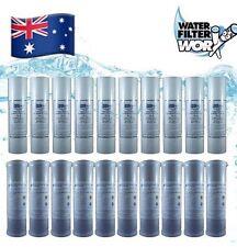 WATER FILTERS UNDERSINK 10 + 10 BULK PACK | 0.5 SEDIMENT + 1 MICRON CARBON ✅✅✅✅✅