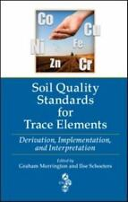 Soil Quality Standards for Trace Elements: Derivation, Implementation, and Inter