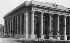 RPPC First National Bank, Kansas City, Missouri 1910 Vintage Real Photo Postcard