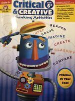EMC: 3396: Evan-Moor - Critical And Creative Thinking Activities: Grade 6+