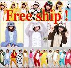 Hot Kigurumi Pajamas Animal Cosplay Costume Unisex Adult Onesie Sleepwear Dress