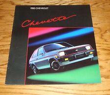 Original 1985 Chevrolet Chevette Sales Brochure 85 Chevy