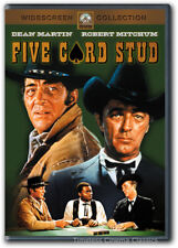 Five Card Stud DVD New Dean Martin, Robert Mitchum, Inger Stevens