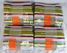 Lot of 4 Stokke Multicolor Stripes Cushion Sets for Tripp Trapp High Chair