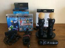 PLAYSTATION MOVE + accessoires + jeu - PS3/PS4