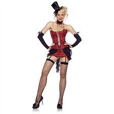 Leg Avenue Costume Love Bite Vampire 83425 Red/Black Small