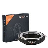 K&F Concept Lens Mount Adapter for Leica M Mount Lens to Pentax PK Lens Camera B