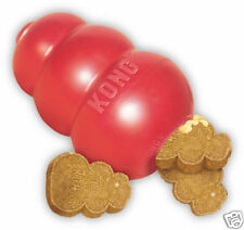 KONG CLASSIC DOG  RUBBER  BOUNCY CHEW - LARGE - BRILLIANT FOR TEETHING DOGS