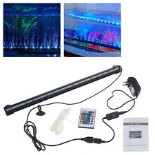 Waterproof 18LED Aquarium Fish Tank RGB Light Bar Submersible Lamp& Remote& Plug