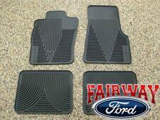 05 06 07 08 09 10 Ranger OEM Genuine Ford Rubber All Weather Floor Mat Set 4-pc
