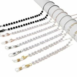 Fashion Glasses Rope Imitation Pearls Anti-off Chain Glasses Legs Accessories