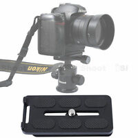 Quick Release Plate for Camera / Lens Tripod Mount Ring/RRS SUNWAYFOTO Ball Head