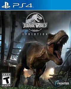 Jurassic World Evolution - PlayStation 4 NEW FREE US SHIPPING